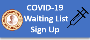 Hunterdon County Health Department COIVD-19 Waiting List Sign Up