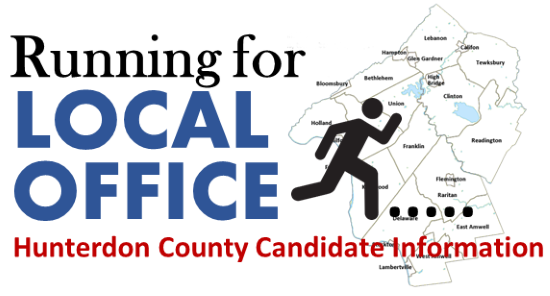 Running for Local Office in Hunterdon County - Helpful Resources