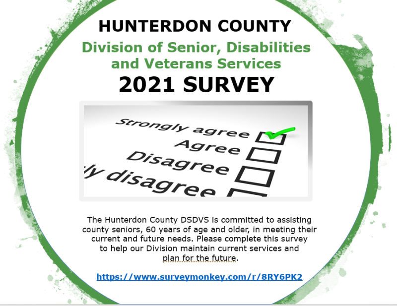 Division of Seniors, Disabiliites and Veterans Services Annual Survey