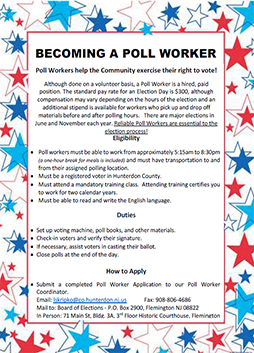 Becoming an Poll Worker
