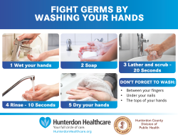 Fight Germs by Washing Your Hands - Click for larger view...