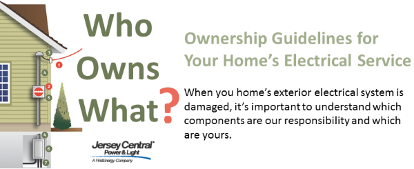 Guideliines for Home's Electrical Service Ownership