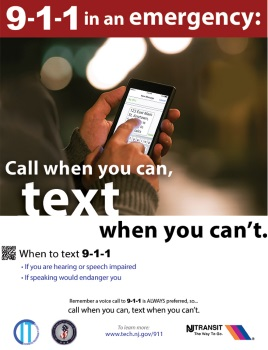 When to Text to 9-1-1