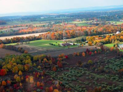 Aerial View of the Hunterdon County Communications Department