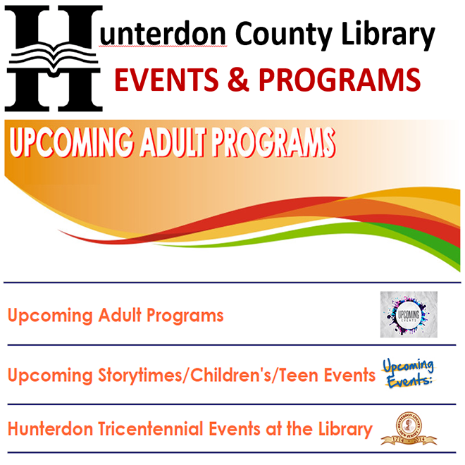 Events at the Hunterdon County Library