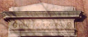 Hall of Records Facade
