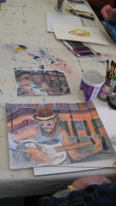 Thursday Evening Art Studio for Adults with Lena Shiffman