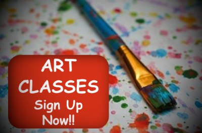 Art Classes - Sign Up Now