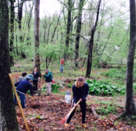 Public Lands Day Trail Building