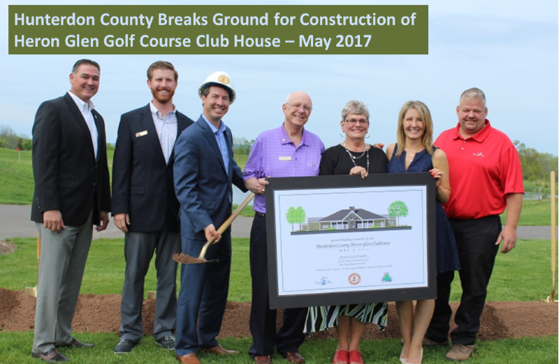 Heron Glen Golf Course Club House Ground Breaking Ceremony - May 04, 2017